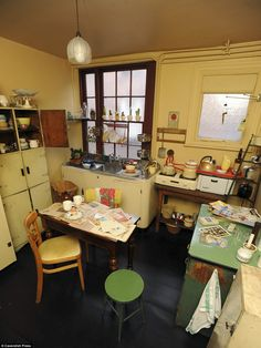'The terrace that time forgot: Domestic life in 1950s Britain captured in the perfectly preserved home of Liverpool's most celebrated photographer'  www.dailymail.co.uk