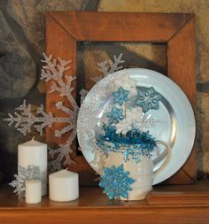 winter mantel