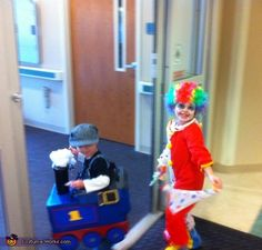 Thomas the Tank - Halloween Costume Contest via @costume_works