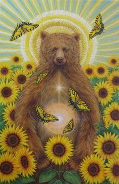 cathy mcclelland art | The Art of Cathy McClelland - Sun Bear