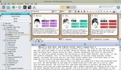 Creating Character Cards in Scrivener Novel Writing Software, Writing Resources, Writing Tips, Writing Words, Fiction Writing, Software Apps, Writing Characters, Children's Picture Books, Writing Inspiration
