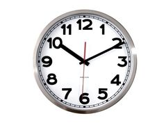Karlsson Wall Clock Numbers 29cm White