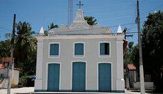 Igreja do povoado de Mangue Seco, que inspirou a novela ''Tieta''