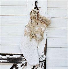 Heirloom Vintage Stocking