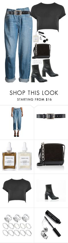 """""""Selena Gomez Inspired Look"""" by samikayy76 ❤ liked on Polyvore featuring Monse, Belstaff, French Girl, Alexander Wang, Topshop, Dear Frances, ASOS and Bobbi Brown Cosmetics"""
