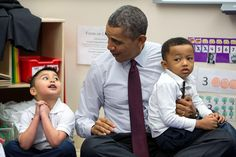 """We've partnered with cities to get more kids access to quality early education"" —President Obama #OpportunityForAll"