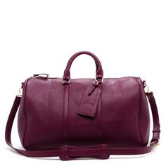 Sole Society Cassidy Weekender Bag in Oxblood ($79)