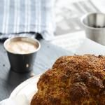 Bloomin' Indian-Spiced Whole-Roasted Cauliflower {With Indian-Spiced Bloomin' Sauce}