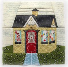 """Cozy Cottage"""" in the new """"Paper"""" issue 8 of Fat Quarterly"""