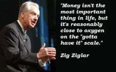 Zig Ziglar Money Quotes images