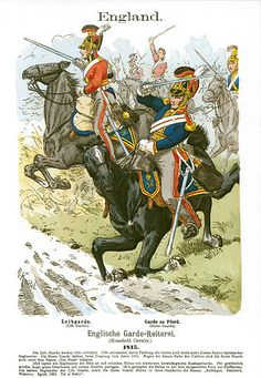 This Day in History: Jun Napoleon defeated at Waterloo British Army Uniform, British Uniforms, Waterloo 1815, Battle Of Waterloo, Military Art, Military History, Military Uniforms, Empire, Napoleonic Wars