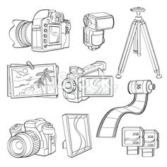 Digital Products Illustration | Embroidery Inspiration