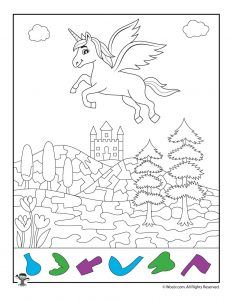 Unicorn Activity Pages For Kids Unicorn Coloring Pages Coloring