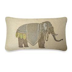 Olifant Oblong Throw Pillow - BedBathandBeyond.com