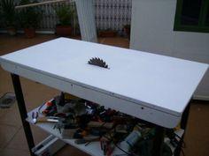 El taller en casa: Cómo hacer una mesa para sierra circular