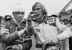 With Niki Lauda (bandaged or not), passion overtakes