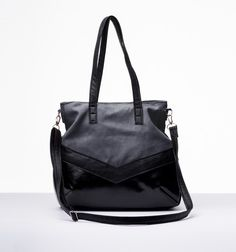 MV Design No.5 - Black/Gray Handbag from MV Design by DaWanda.com
