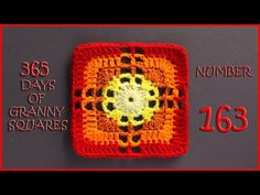365 Days of Granny Squares Number 163 - YouTube