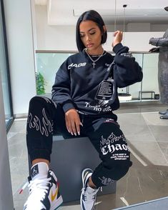 Cute Swag Outfits, Tomboy Outfits, Chill Outfits, Tomboy Fashion, Dope Outfits, Retro Outfits, Look Fashion, Streetwear Fashion, Stylish Outfits