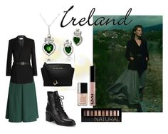 Irish Beauty by theirishjewelrycompany on Polyvore featuring Yves Saint Laurent, Chicwish, Joie, MICHAEL Michael Kors and Forever 21