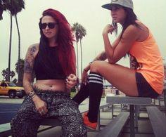 me and tania
