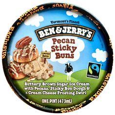 ... Brown Sugar Ice Cream with Pecans, Sticky Bun Dough & a Cream Cheese