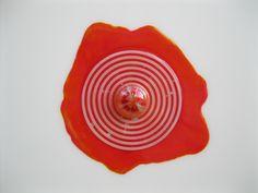 Nemesi - ciclo delle orbite -  opera in resine su tavola dell'Artista Giuseppe Portella - Galleria Wikiarte Via San Felice 18 Bologna