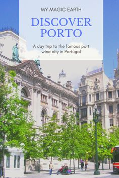 Porto is a Port Wine town with a historical centre. It has many iconic buildings such as Dom Luís I Bridge and São Bento Station with 20,000 tiles depicting the historical scenes. For port wine lovers, it is possible to visit one of wineries as well. There are many things to and to see in Porto. #Porto #portugal #daytrips #portwine #oldtown #葡萄牙 #europe #traveltips #travelblogger #destination #weekendtrip#thingstodo #familywithkids #familytravel Portugal Travel Guide, Europe Travel Guide, Spain Travel, Travel Guides, Travel Abroad, Europe Destinations, Amazing Destinations, European Vacation, European Travel