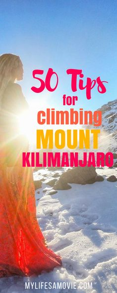 50 tips on how to hike Mount Kilimanjaro in Africa - Solo Female Adventure Traveler