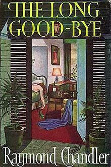 """RaymondChandler TheLongGoodbye """"The first time I laid eyes on Terry Lennox he was drunk in a Rolls-Royce Silver Wraith outside the terrace of the Dancers"""". --Raymond Chandler, The Long Goodbye"""
