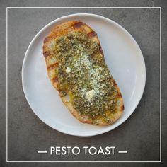 Pesto Toast // shutterbean