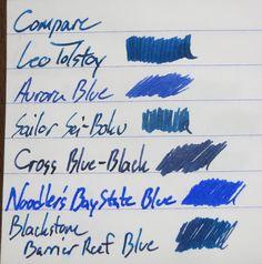 Montblanc Leo Tolstoy Sky Blue ~ Inkdependence!