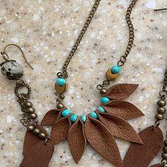 Black wrap bracelet Leather wrap bracelet Boho cuff bracelet Embroidered mandala bracelet Bohemian j Tribal Earrings, Fringe Earrings, Feather Earrings, Leaf Earrings, Gemstone Earrings, Hoop Earrings, Black Earrings, Gemstone Bracelets, Leather Necklace