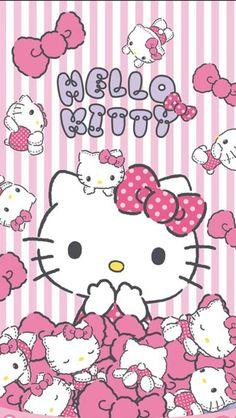 Hello Kitty Art, Hello Kitty Themes, Sanrio Hello Kitty, Sanrio Wallpaper, Hello Kitty Wallpaper, Disney Wallpaper, Wallpaper Ideas, Hello Kitty Pictures, Kitty Images