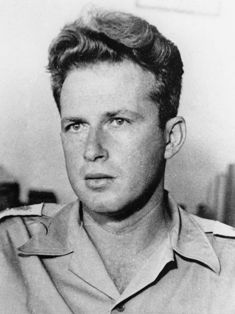 Yitzhak Rabin, commander of the Harel Brigade,