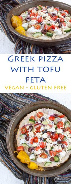 Greek Pizza with Tof