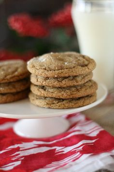 Soft and Chewy Gingerdoodle Cookies! This recipe sounds great! I'd much rather have a soft cookie than those regular ginger snaps. They make me scared I'm gonna crack a tooth!!!
