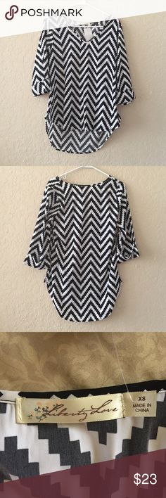 Zig zag blouse NEW New with tags Tops Blouses