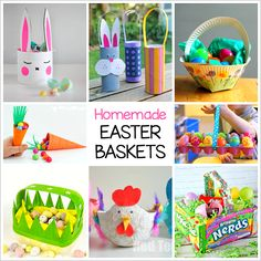Homemade Easter baskets are one of the most classic Easter crafts for kids and so much fun to make! Here's 12 adorable DIY Easter basket crafts for kids- including baskets made from paper plates, milk cartons, plastic cups, and more! Follow Buggy and Buddy on Facebook!   Easter crafts for kids are some of my …