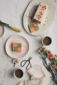 Matcha Strawberry Battenberg Cake – A Cozy Kitchen