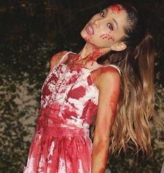 Ariana Grade Likes Halloween More Than Christmas