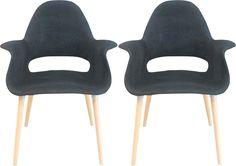 Morza Chair 2-Pack, Black