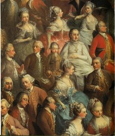 During a Concert at the Court of Empress Maria Theresa, by Martin van Meytens, (detail). Unauthenticated Portrait of Mozart. Fireworks Music, Classical Music Composers, Historical Art, Sculpture, Portrait Art, 18th Century, American History, Illustration Art, Image