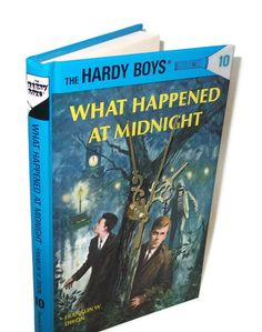 Hardy Boys Book Desk Clock What Happened at by retrograndma, $29.99