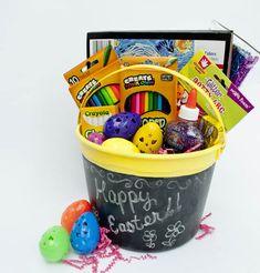 Easter basket made out of a milk jug easter pinterest milk easter basket for creative girls negle Images
