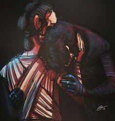 """""""Everyday I try to tell you Every time I think I get through You put up a wall your so invincible Nothing could keep me away I'll find a way  Everyday  What are you scared of What do you have to loose You'll never know  If all you do Refuse and hide From the door thats open wide Ignore the voice you hear inside And everything I say""""                             Kylo Ren and Rey from Star Wars: The Force Awakens"""