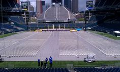 UW Commencement: We set the stage before the grads arrived this  past weekend! Congrats to all the grads. By Triumph Expo & Events, Inc., via Flickr