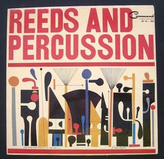 Reeds And Percussion LP 1961 Command S. Neil by WhimsyIncVintage