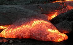 Magma is composed of molten rock and is stored in the Earth's crust. Lava is magma that reaches the surface of our planet through a volcano vent.