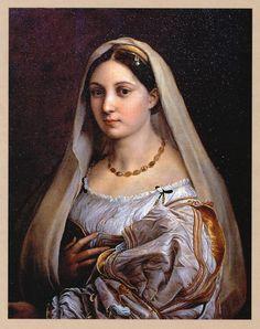 Raffaello Sanzio, La Welata #renaissance #painting